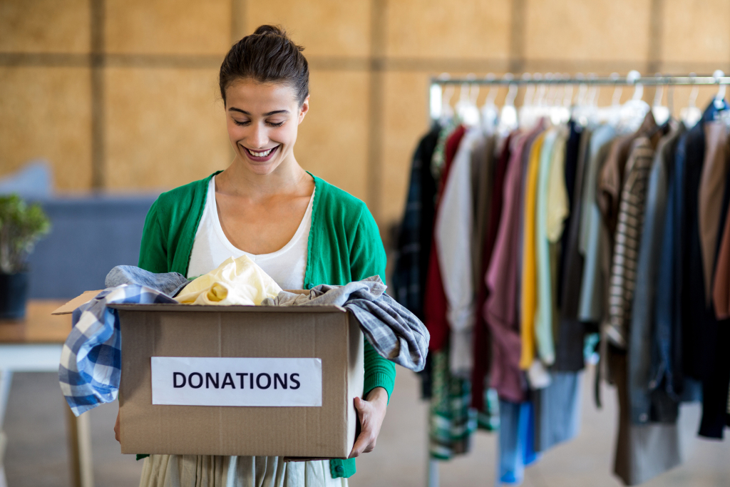 The Benefits of Donating Your Clothes